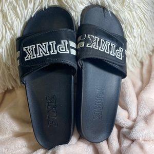 Victoria's Secret PINK slides/flip flops/ sliders